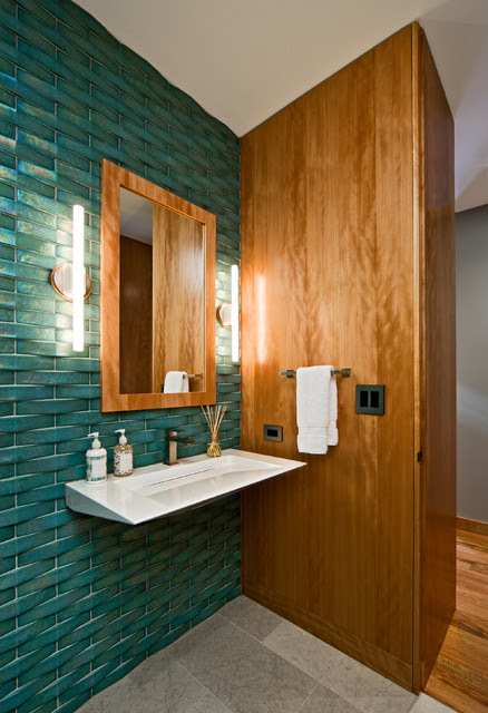 Image Result For Bathroom Accent Wall