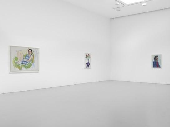 Alice Neel: Late Portaits & Still Lifes installation shot. (Courtesy of David Zwirner Gallery ©)