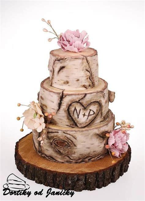 Pin by CakesDecor.com on Wedding Cakes   Birch wedding