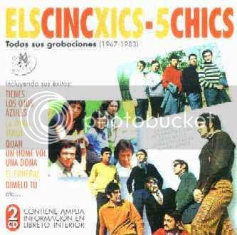 Cinc chics,Grupos valencianos