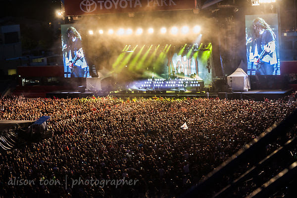 Huge crowd for Korn