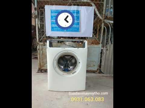 Quá trình ráp một máy giặt Electrolux 7kg - Sửa máy giặt lồng ngang tại Tiền Giang