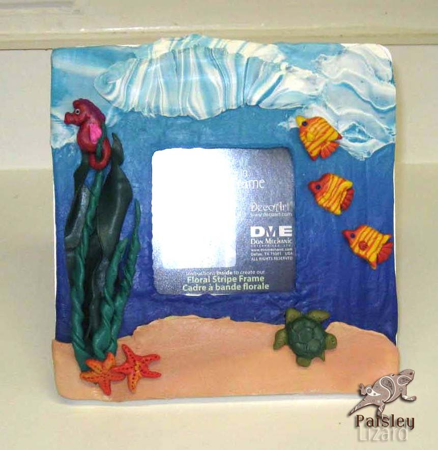 Under The Sea Picture Frame Products Studio1workshop Personalized