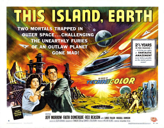 Reynold Brown - This Island Earth (Universal International, 1955) half sheet