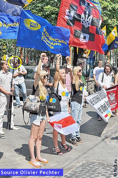 FEMEN, Sviatski y UNA-ONURS