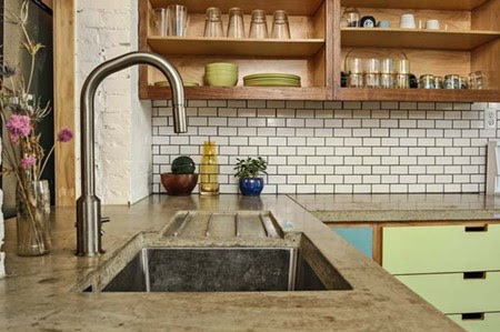 Kitchen Concrete Countertops 09 1 Kindesign