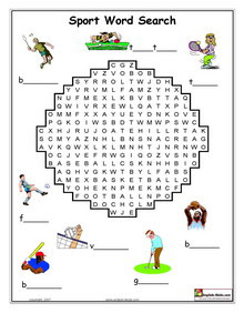 Sports Crossword On Esl English Vocabulary Printable Worksheets Olympic Games