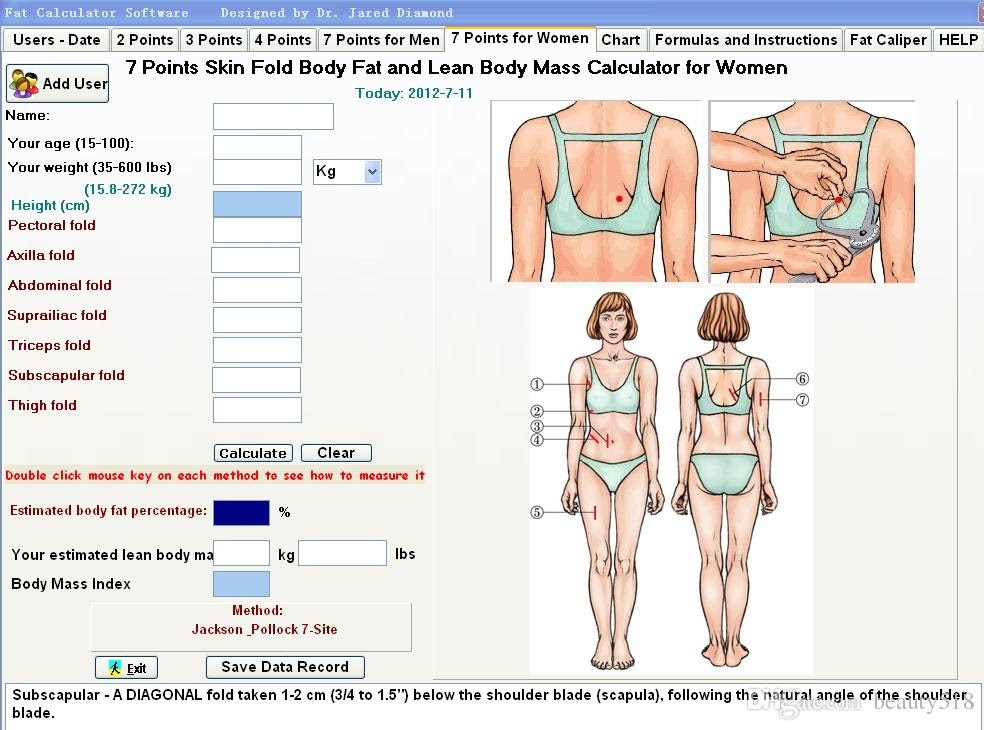 body fat percentage most accurate method