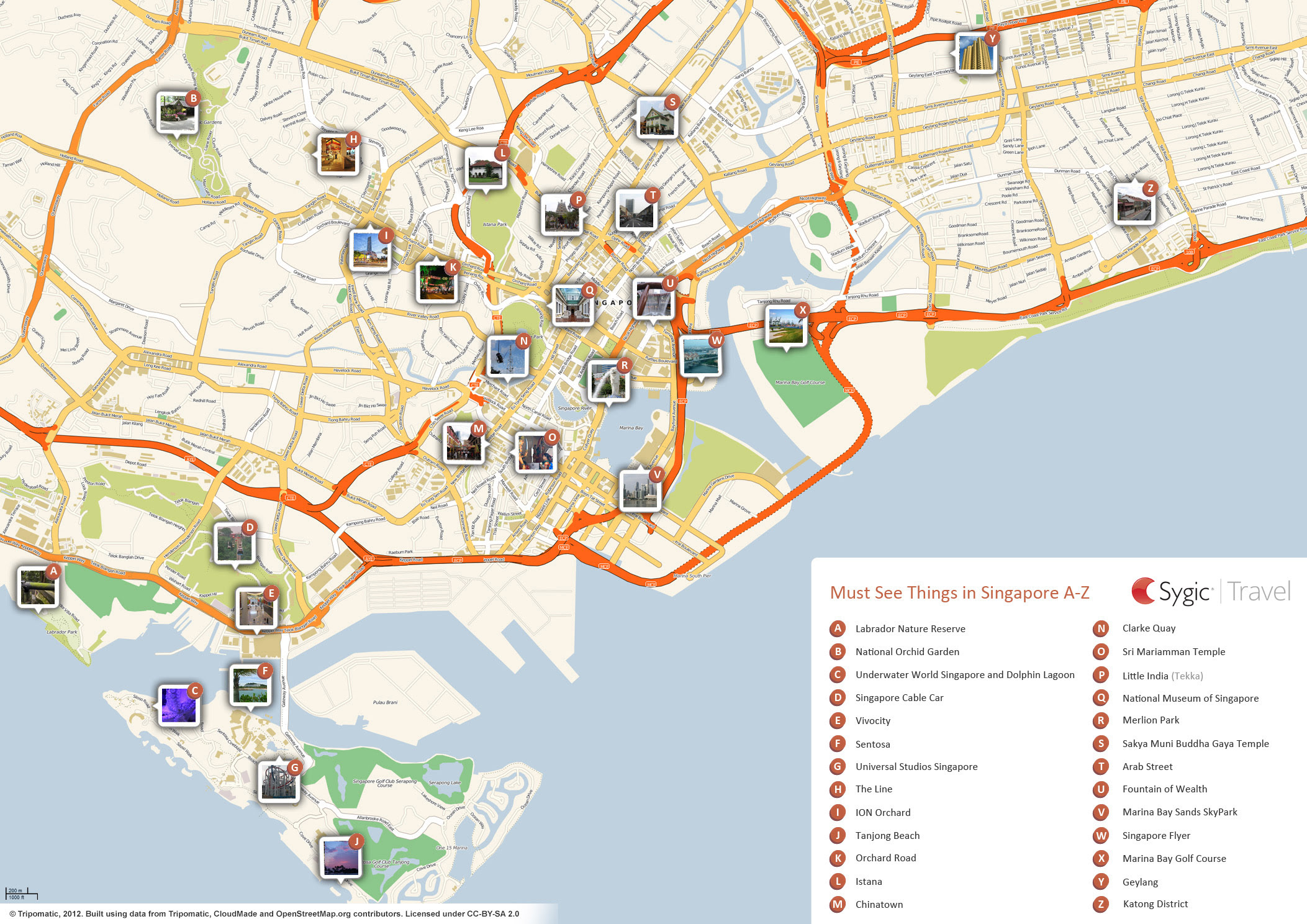 Complete Singapore Tourist Destinations and Attractions Map,Map of  Singapore Tourist Destinations and Attractions,tourist attractions in singapore,places to visit in singapore,singapore travel guide tourism map,things to do in singapore
