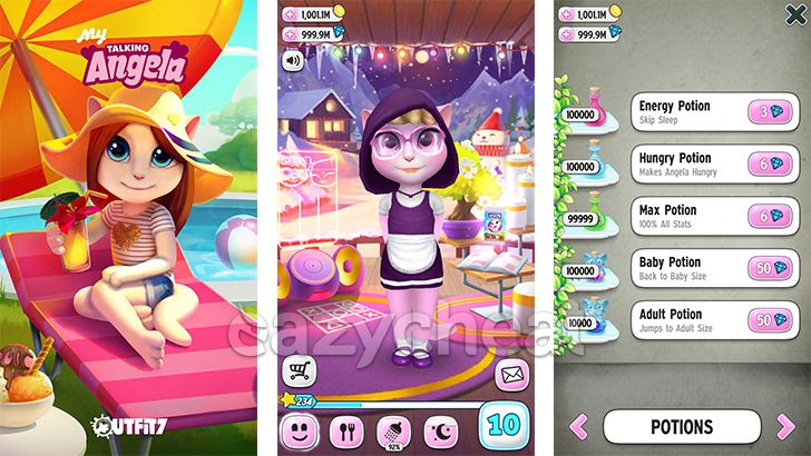 My Talking Angela v2.6.0.19 Cheats