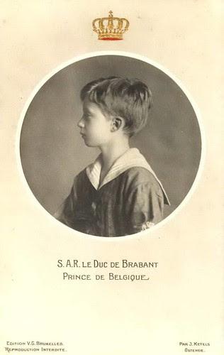 Kronprinz Leopold von Belgien, Herzog von Brabant