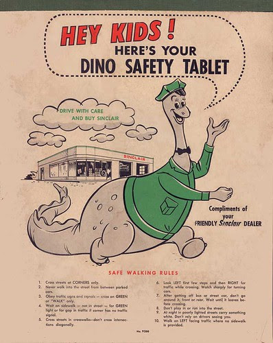 Sinclair Dino Safety Tablet