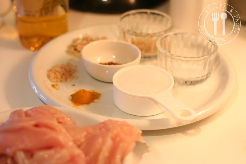 Roerbakken Ingrediënten:Kip Saté
