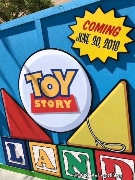 Toy Story Land Opening on June 30th