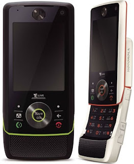 3G Motorola Z8m now offered in Black and White
