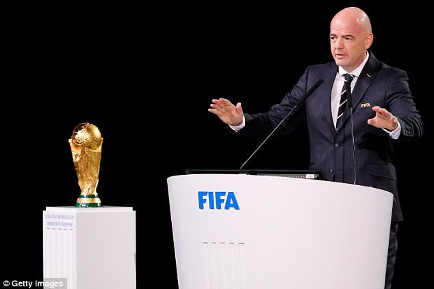 'FIFA was clinically dead as an organisation,' Infantino said, reflecting on his election in 2016