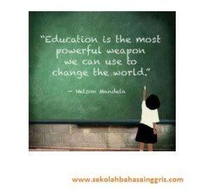 slogan  bahasa inggris tentang pendidikan artinya
