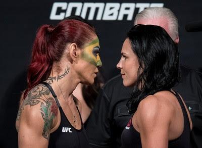 Cris Cyborg Lina Lansberg UFC Brasília (Foto: Getty Images)