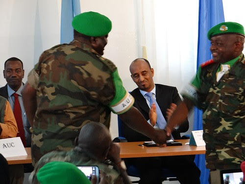 AMISOM's new commander Gen. Silas Ntigurirwa of the Burundi Defense Forces. There are over 20,000 U.S.-backed troops occupying Somalia. by Pan-African News Wire File Photos