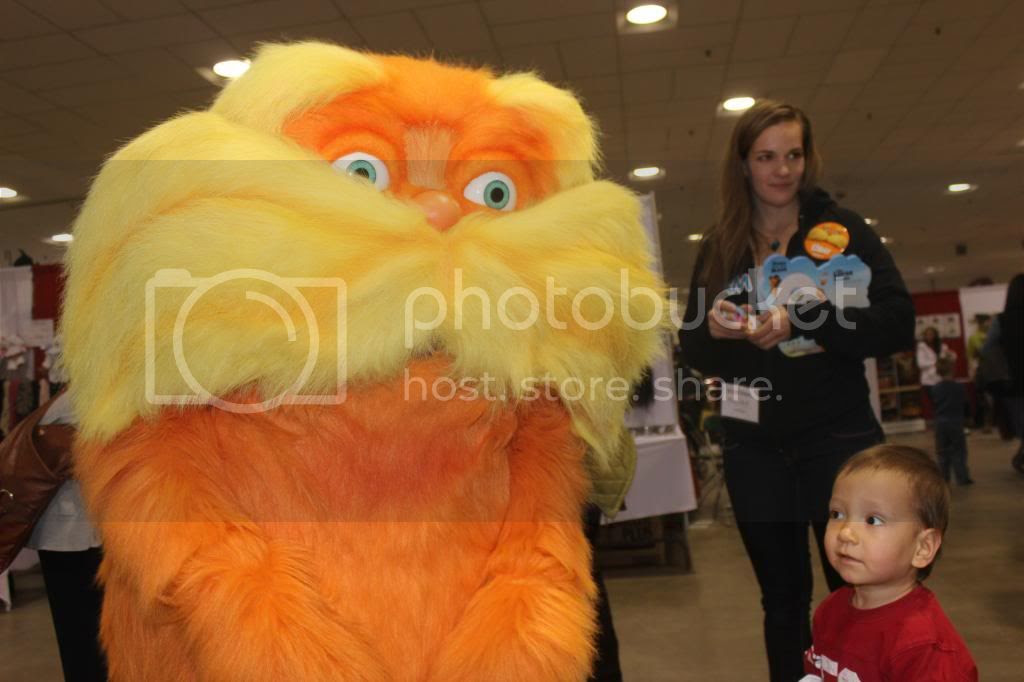 The Lorax and Teddy