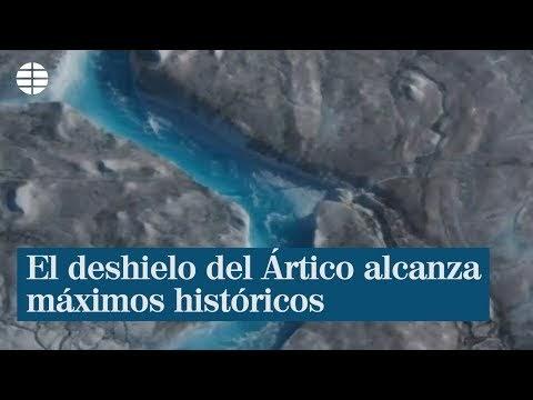 #Vídeo: El deshielo del Ártico alcanza máximos históricos