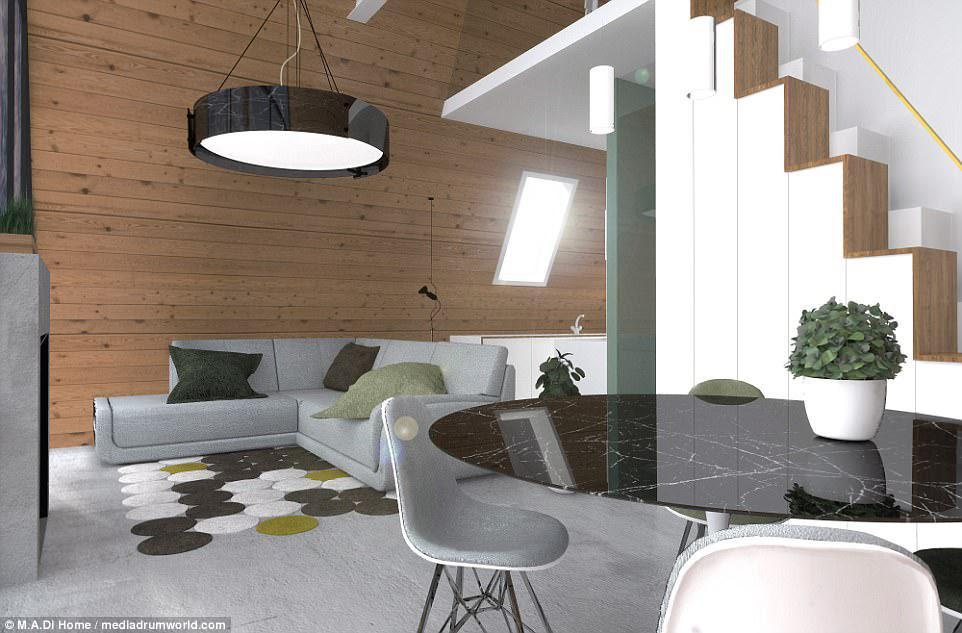 Όλα τα βασικά μοντέλα περιλαμβάνουν μπάνιο, συνδέσεις κουζίνας και τεχνικές εγκαταστάσεις και θα παραδοθούν 60 ημέρες από την αποδοχή των τελικών σχεδίων