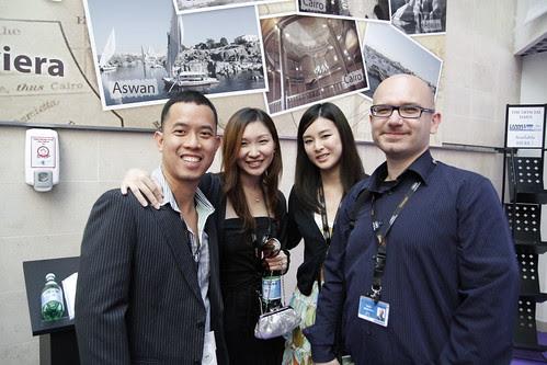 Ming Jin, Tomoko, Fooi Mun and Paolo