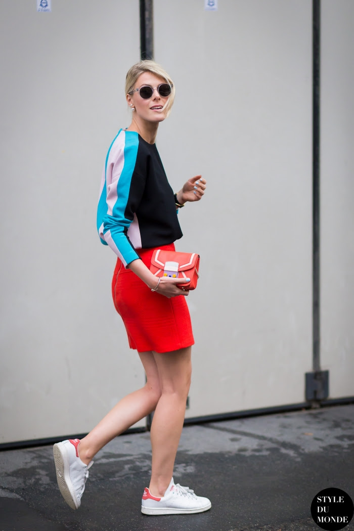 Sofie Valkiers Street Style Street Fashion Streetsnaps by STYLEDUMONDE Street Style Fashion Blog