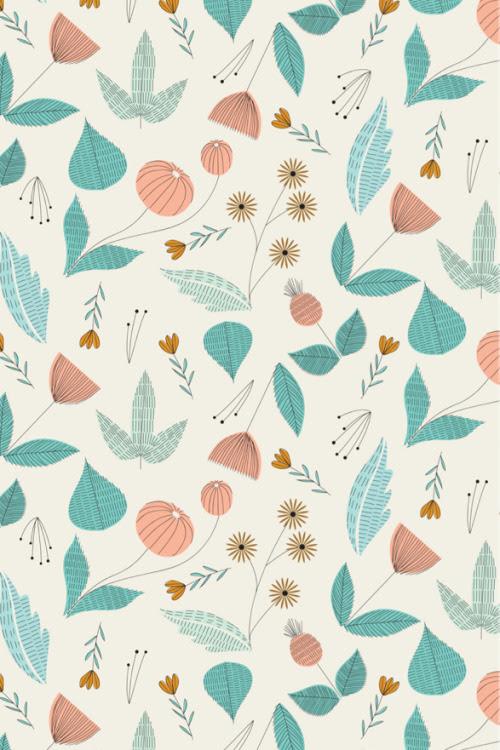 北欧風 花柄 スマホ 壁紙 キュート 無料 かわいい無料スマホ  - スマホ 壁紙 無料 北欧