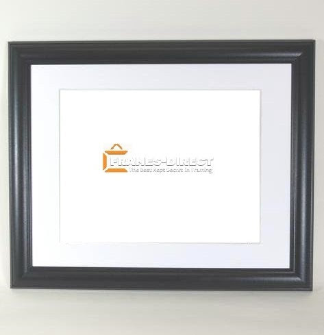 Aw7000 11x14 Black Wood Frame Holds 85x11 Certificate Or Diploma