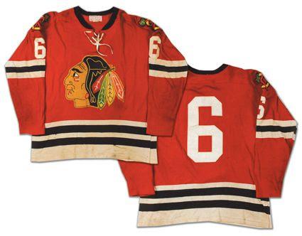 Chicago Blackhawks 1963 jersey