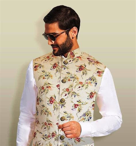 Latest Designer Nehru Jacket Designs & Styles for Grooms