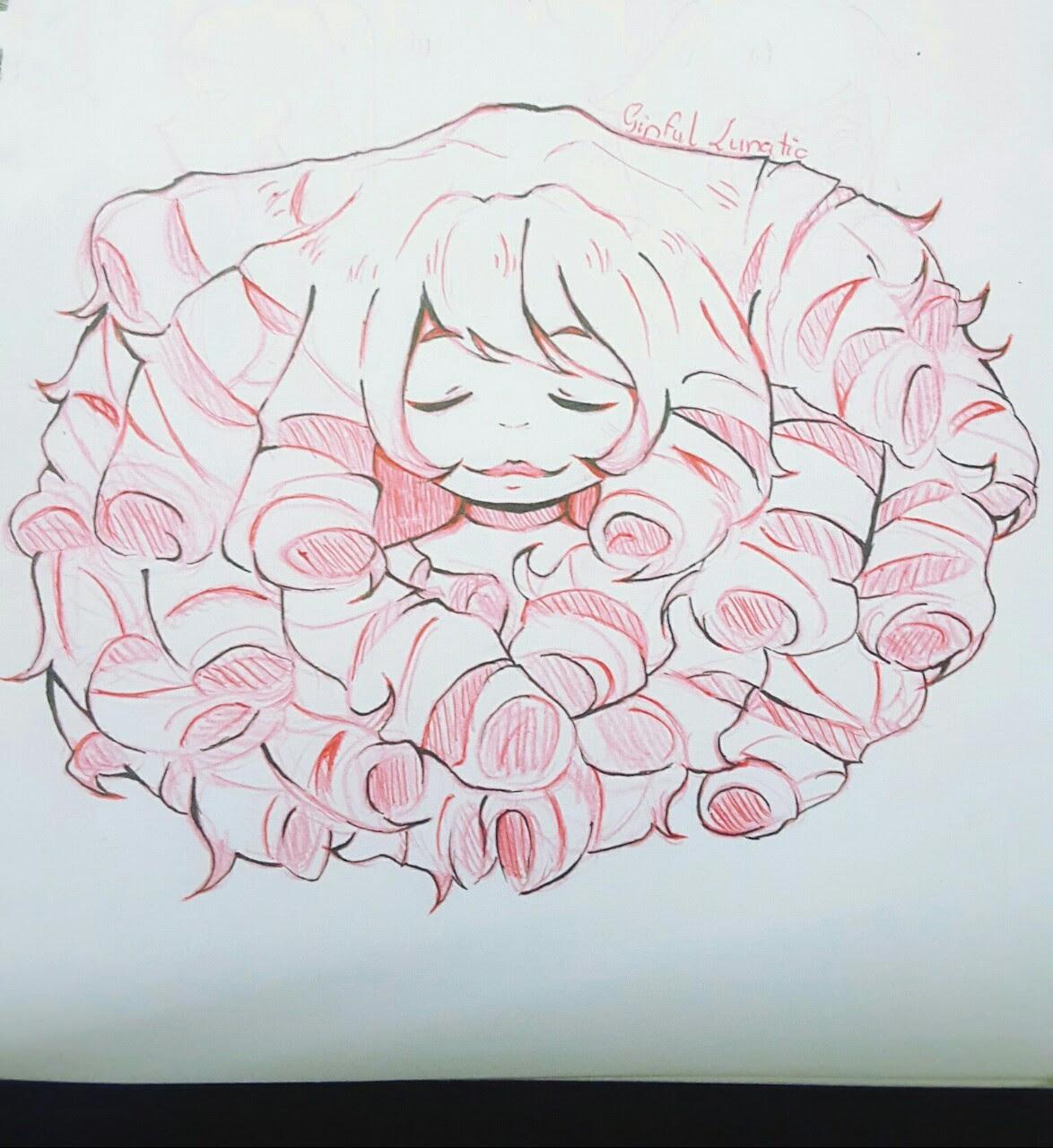 Rose Quartz doodle