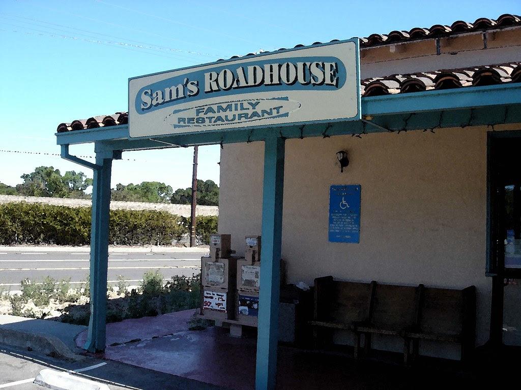 Sam's Roadhouse closed
