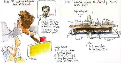 Zaragoza, de vueltas con el cuaderno