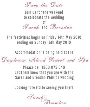 save the date weekend accommodation wording   Google