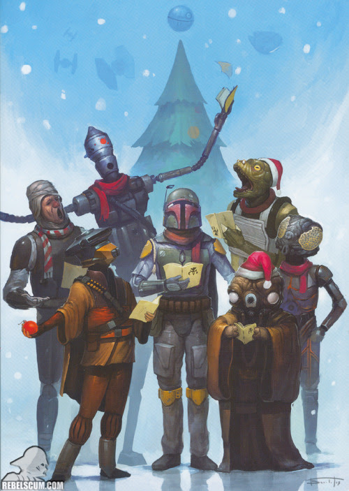 Greeting card being sent out by Lucasfilm this year