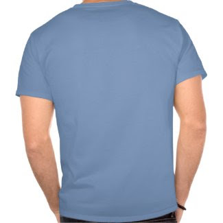 Athenian Blue & White Hoplite Seal Shirt