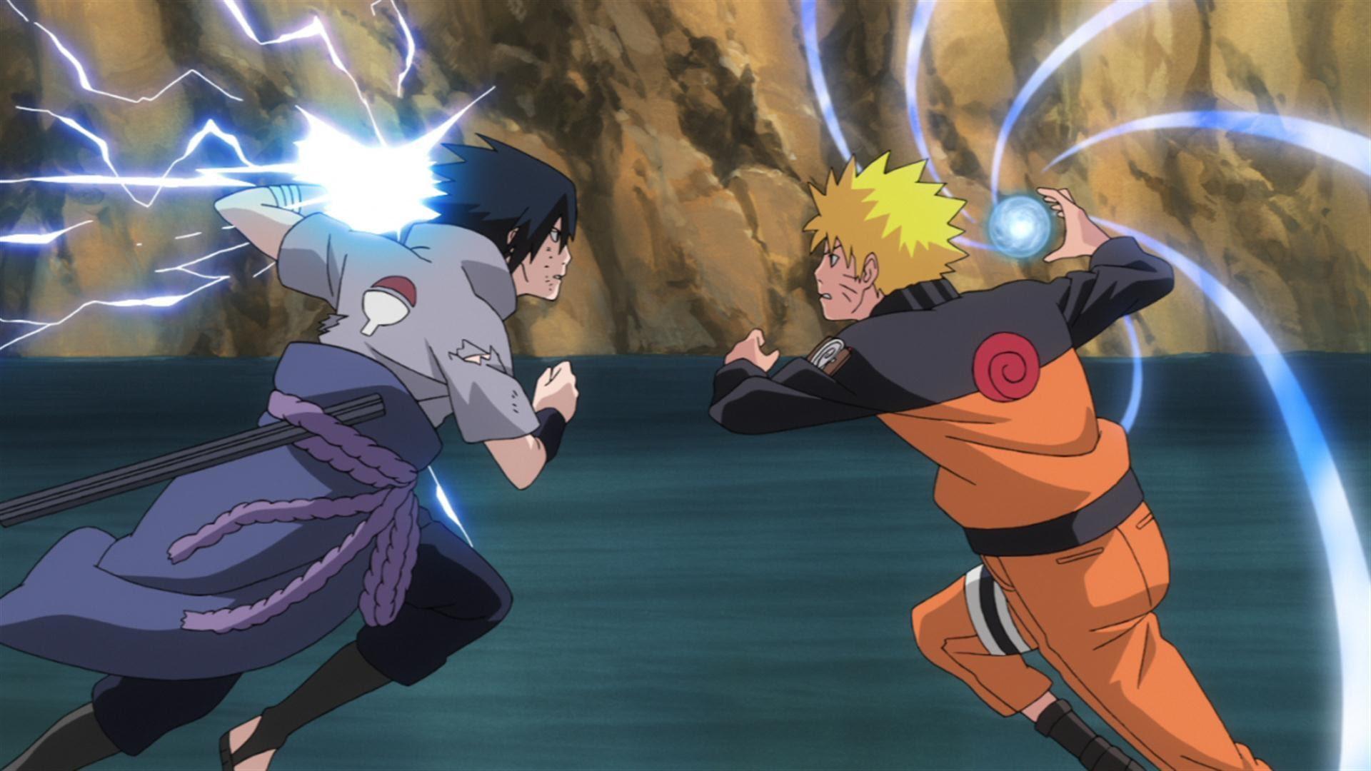 Unduh 400 Wallpaper Bergerak Naruto Vs Sasuke