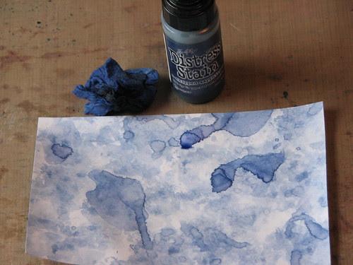 watercolor paper towel technique 011