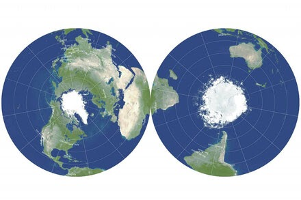 TREND ESSENCE:Can This New Map Fix Our Distorted Views of the World?