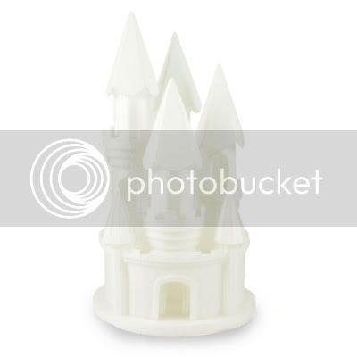 Styrofoam Wedding Cake on Styrofoam Fairy Princess Castle Cake Topper Birthday   Ebay