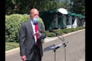 Trump economic adviser Larry Kudlow wears mask at press conference, says it's necessary to reopen economy