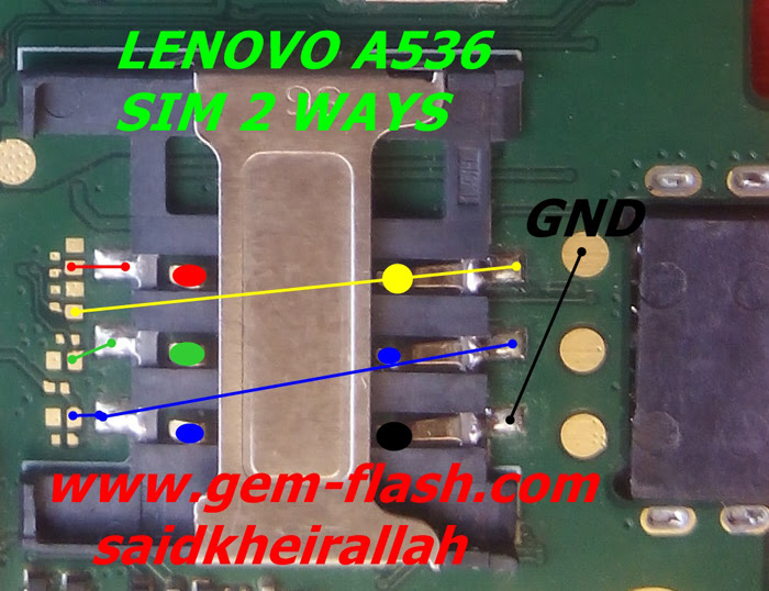 Lenovo A536 Insert Sim Card Problem Solution Jumper Ways