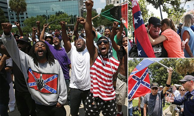 Clashes expected in South Carolina as Ku Klux Klan meets New Black Panther Party