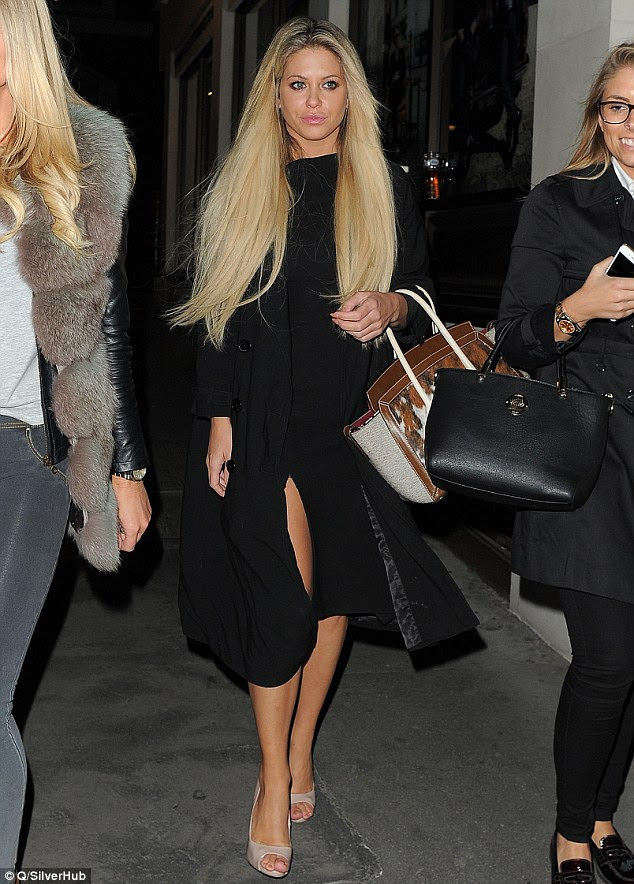Looking good: Bianca Gascoigne attends Dame Vivienne Westwood: Get a Life - book launch party