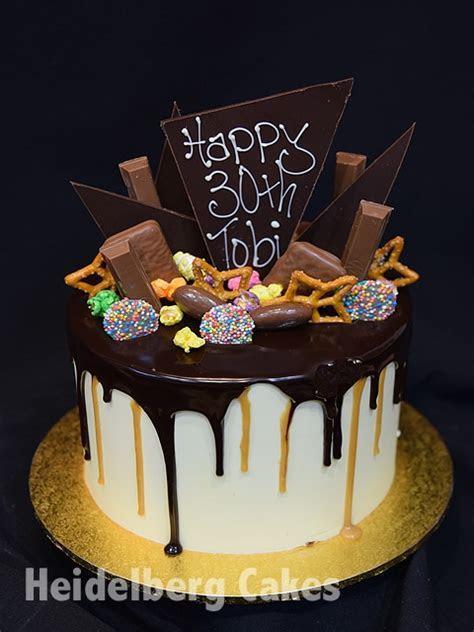Boys cake 20  Drip cake   Heidelberg Cakes