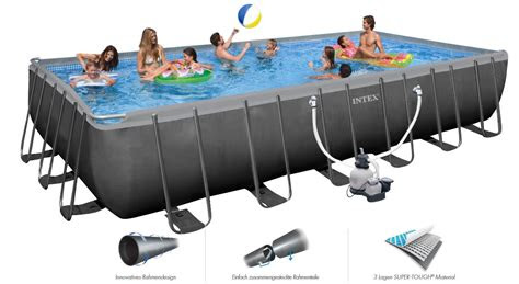 intex swimming pool ultra xtr frame xx cm