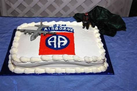 Groom's cake! All the Way! 82ND Airborne =)   Military