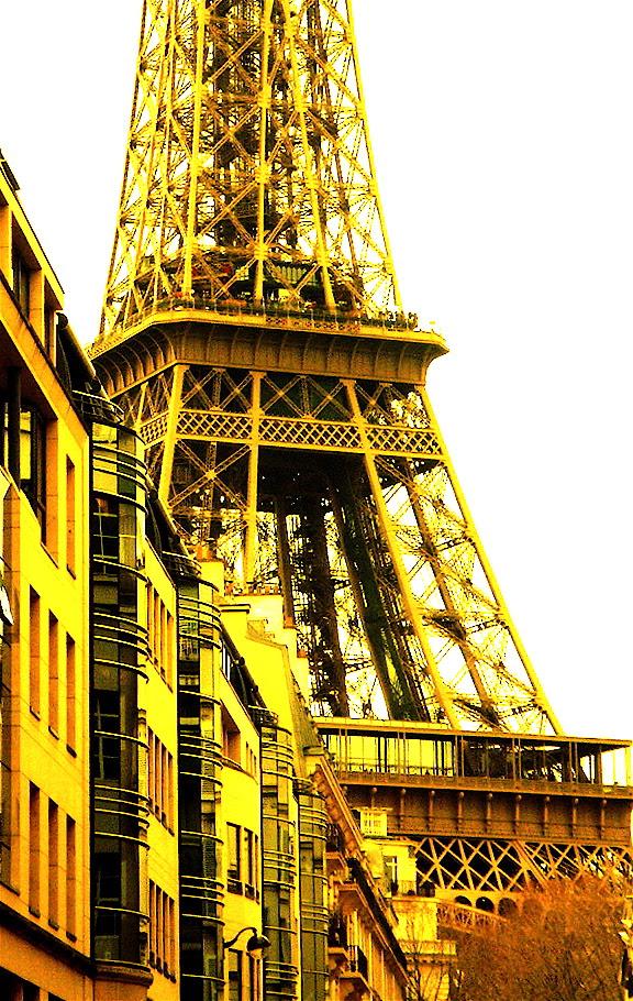 Yellow Eiffel